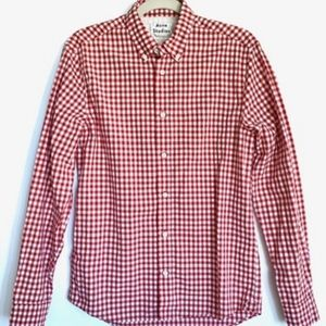 Acne Shirts - Acne Studios Isherwood Vich Gingham Shirt